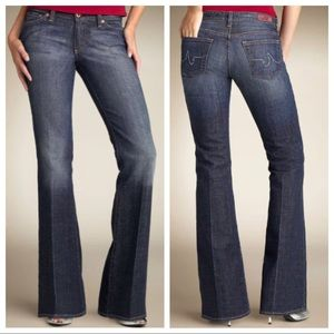 AG 'The Club' Stretch Flare Jeans 27
